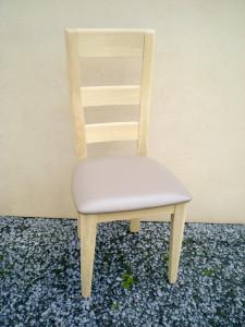 chaise en chêne européen moderne