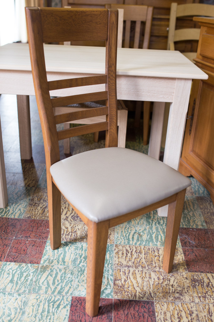 Menuiserie Serriez Ledru - Belgique - chaises sur mesure